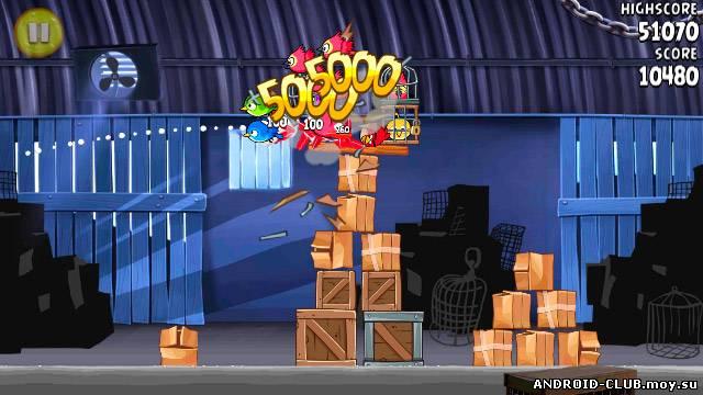 Картинка Angry Birds: Rio —Злые Птицы на телефон