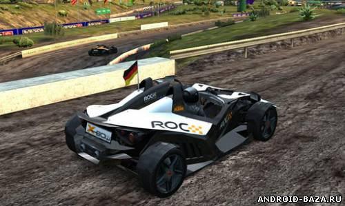 Скриншот Race Of Champions на планшет