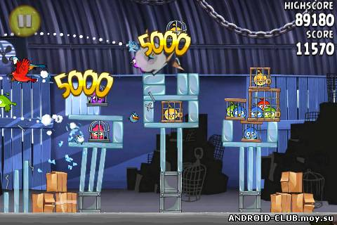 Скриншот Angry Birds: Rio —Злые Птицы на планшет