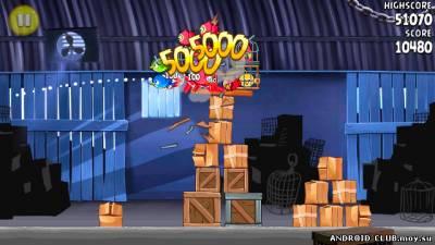 Изображение Angry Birds: Rio —Злые Птицы на телефон