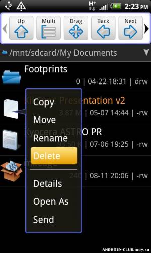 ASTRO File Manager Андроид