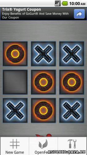 Приложение Tic Tac Toe Game — Крестики Нолики андроид