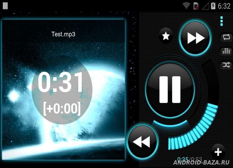 Astro Player Скриншот