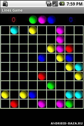 Скачать Lines Game — Игра Линии на android