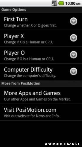 Скриншот Tic Tac Toe Game — Крестики Нолики на планшет