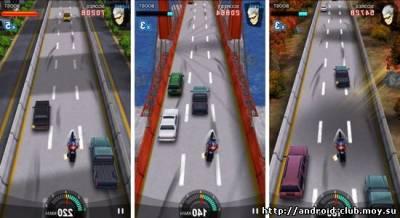 Racing Moto — Мотогонки на телефон