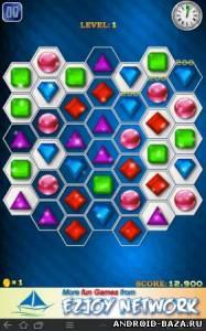 Jewels Maniac — Логическая Игра на телефон