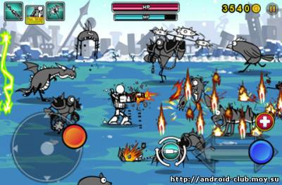Миниатюра Cartoon Wars: Gunner+ — Экшн Android