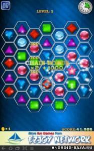 Jewels Maniac — Логическая Игра на планшет