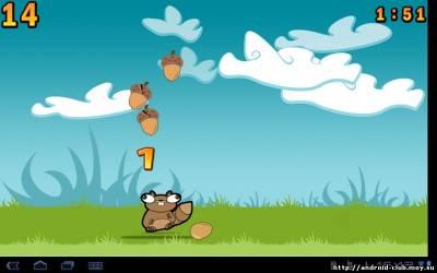 Изображение Noogra Nuts v1.1.4— Белка на телефон