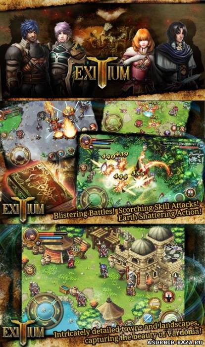 Exitium Saviors of Vardonia — RPG Игра на планшет