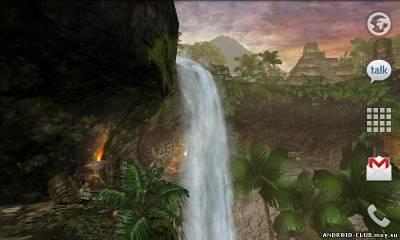 Jungle Waterfall LiveWallpaper — Живые Обои