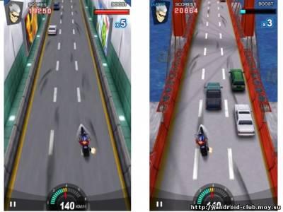 Racing Moto — Мотогонки на планшет