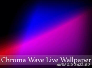Chroma Wave Live Wallpaper на планшет