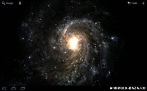 Galactic Wormhole 3D Wallpaper на телефон