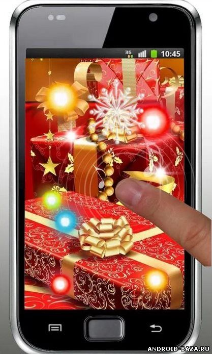 Скриншот Christmas Songs live wallpaper на планшет