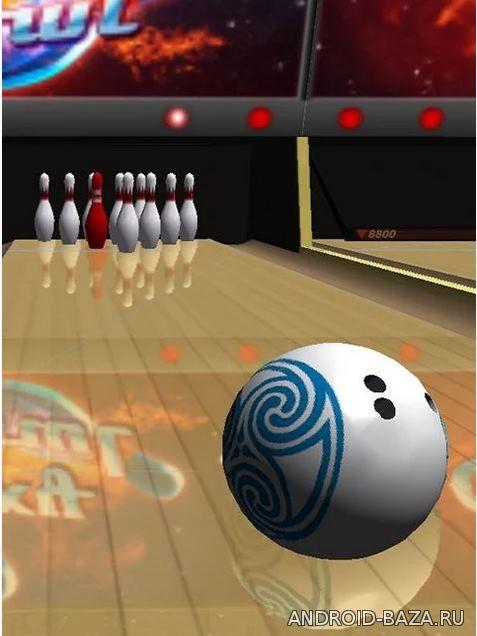 Картинка Galaxy Bowling 3D HD на телефон