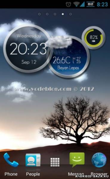 One More Clock Widget FREE Android