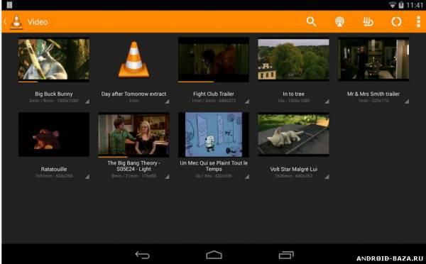 VLC - медиаплеер. Скриншот 3