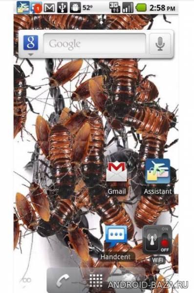Infestation LW - Тараканы на планшет