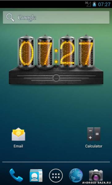 Ламповые Часы - HD виджет 2