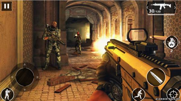 Modern Combat 5 Затмение. Скриншот 3