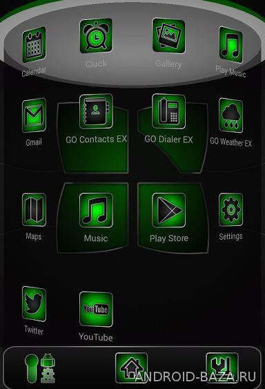 Theme Soft Green Prime 3D 3