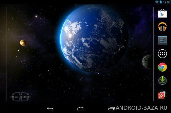 Space HD 3D LWP на телефон