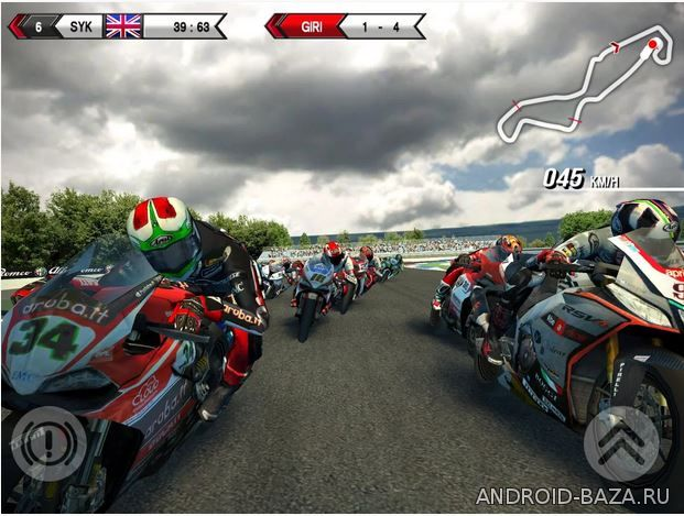 Картинка SBK15 - Гонки на Мотоциклах на телефон
