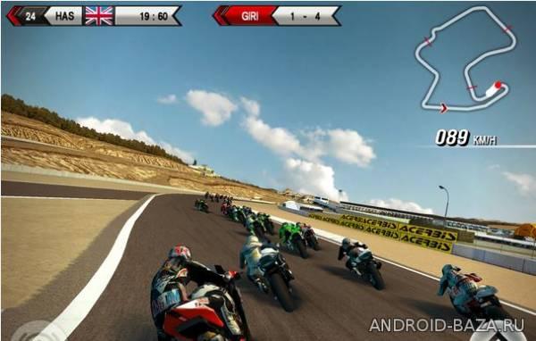 Миниатюра SBK15 - Гонки на Мотоциклах Android