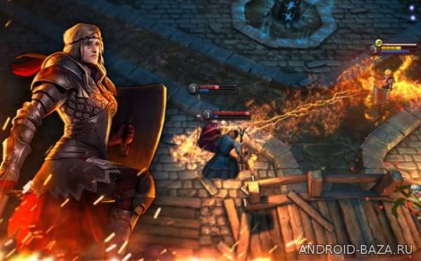 The Witcher Battle Arena на планшет