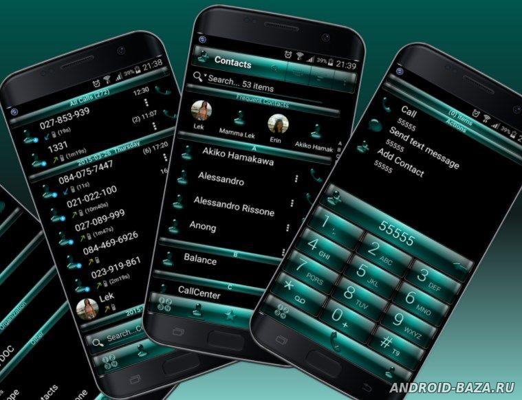 Приложение RocketDial Dialer & Contacts андроид