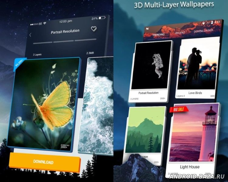 Картинка 3D Wallpaper Parallax 2018 на телефон