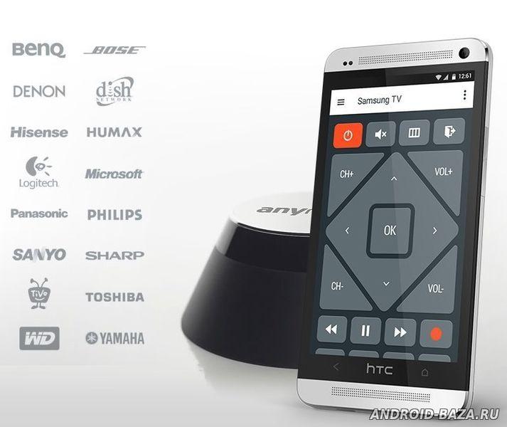 AnyMote TV Wi-Fi пульт андроид