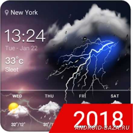 Thunder - Виджет погоды для андроид