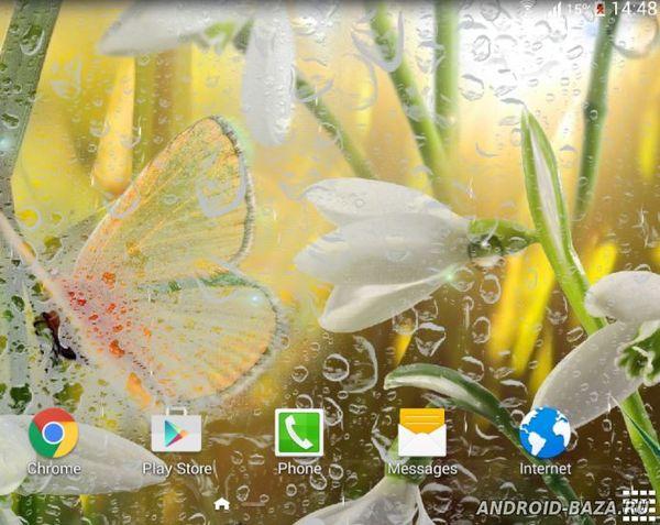 Весенние Живые Обои. Скриншот 3