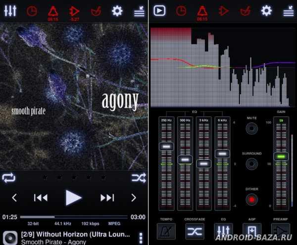 Изображение Neutron Music Player на телефон