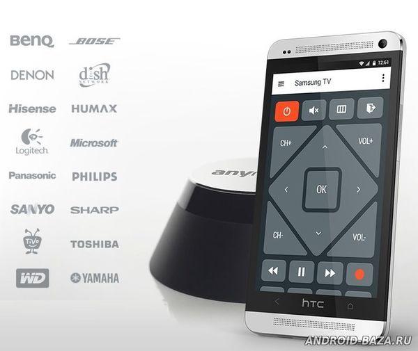 AnyMote TV Wi-Fi пульт на телефон