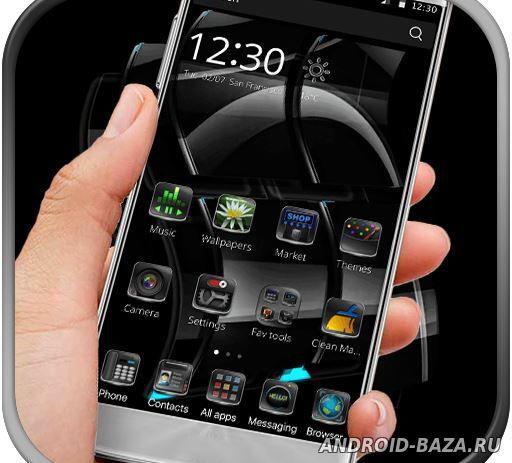 Black Glassy Window для андроид
