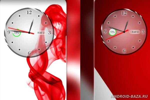 Часы, календарь, аккумулятор. Скриншот 2
