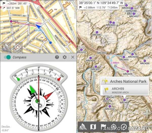 AlpineQuest GPS Hiking на планшет