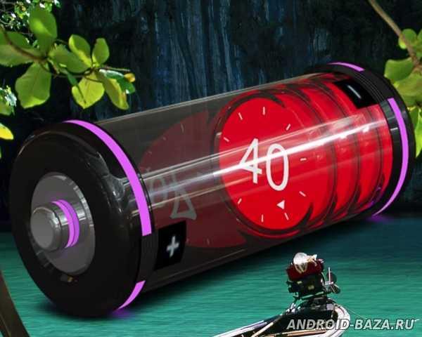 HD Battery Widget 3D Скриншот