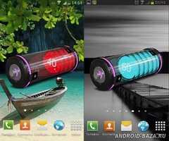 HD Battery Widget 3D. Скриншот 2