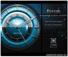 NEPTUN Designer Clock Widget 1