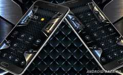 Black Grid Metal Theme 3