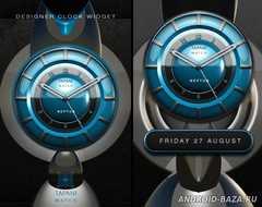 NEPTUN Designer Clock Widget 2