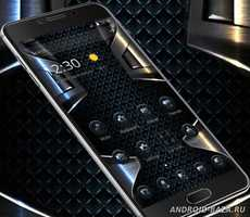 Black Grid Metal Theme 2