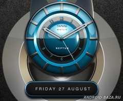 NEPTUN Designer Clock Widget 3