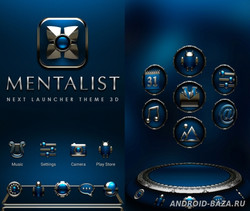 MENTALIST Next Launcher Theme 1