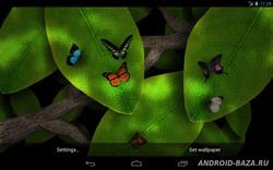 Tap Leaves Live Wallpaper 3